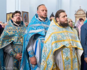 Настоятель храма принял участие в торжествах по случаю праздника Сукневичской иконы Божией Матери