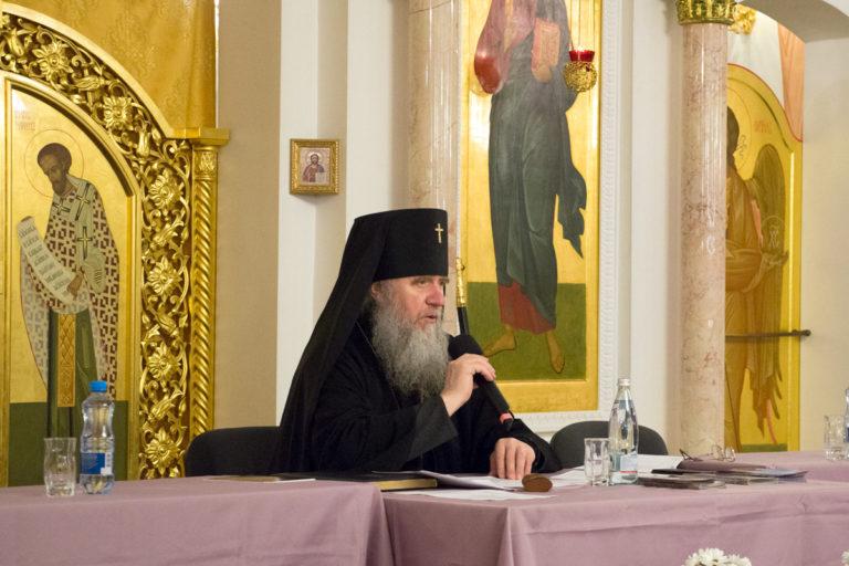 Итоговое епархиальное собрание Витебской епархии.