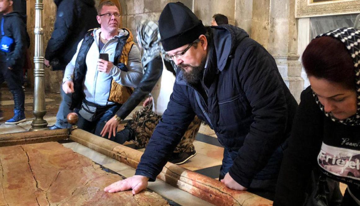Настоятель храма Воскресения Христова совершил паломничество на Святую землю
