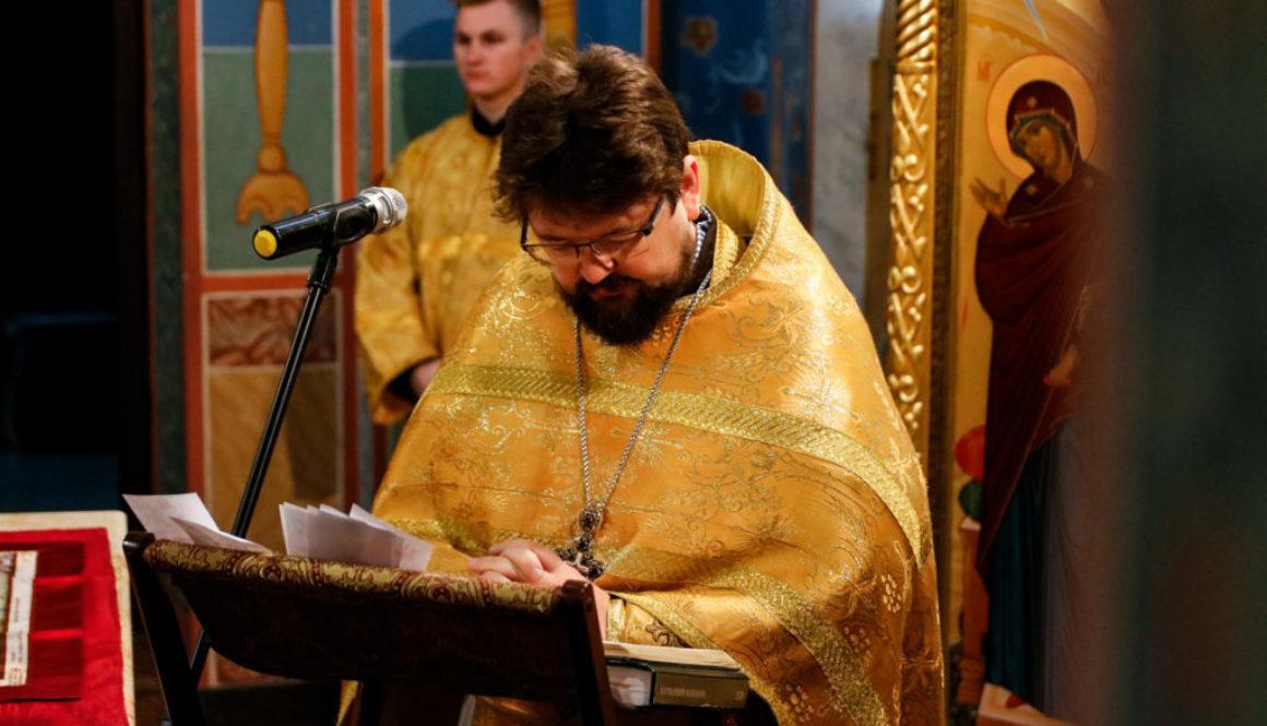 Литургия в Неделю 19-ю по Пятидесятнице